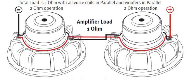parallel dual voice coil wire diagram  2001 jetta engine