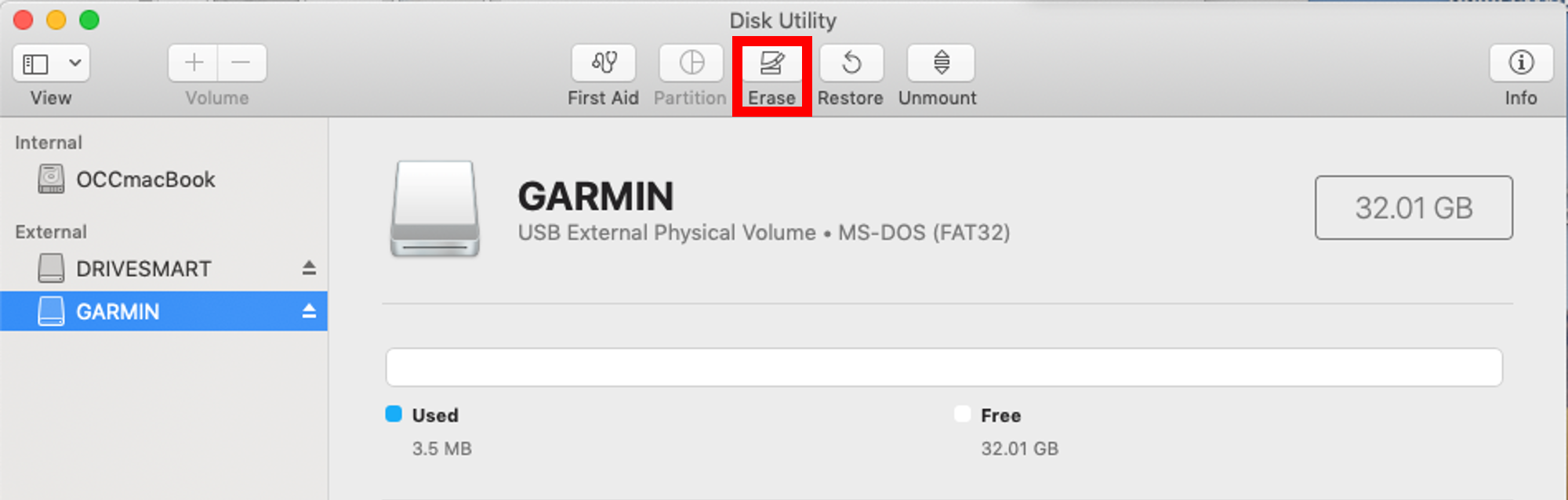 Formatting a microSD/SD Memory Card | Garmin Support