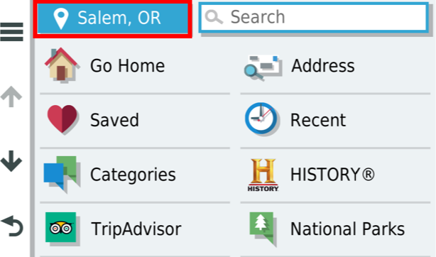 How to Search, Save, Edit, or Delete Locations on an