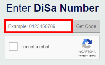 Retrieving the DiSa Activation Code for a Device Sold