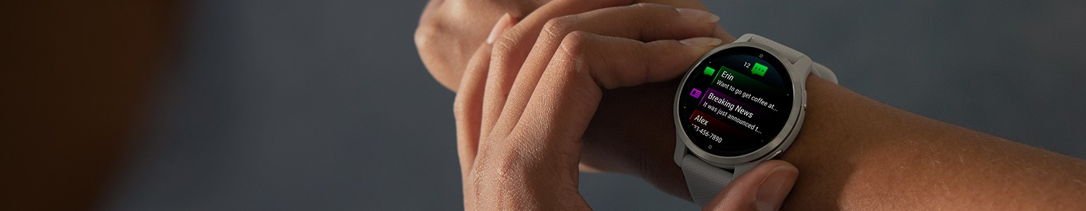 Make sure Garmin smartwatch is two finger widths above wrist. This can help avoid skin rash and irritation.