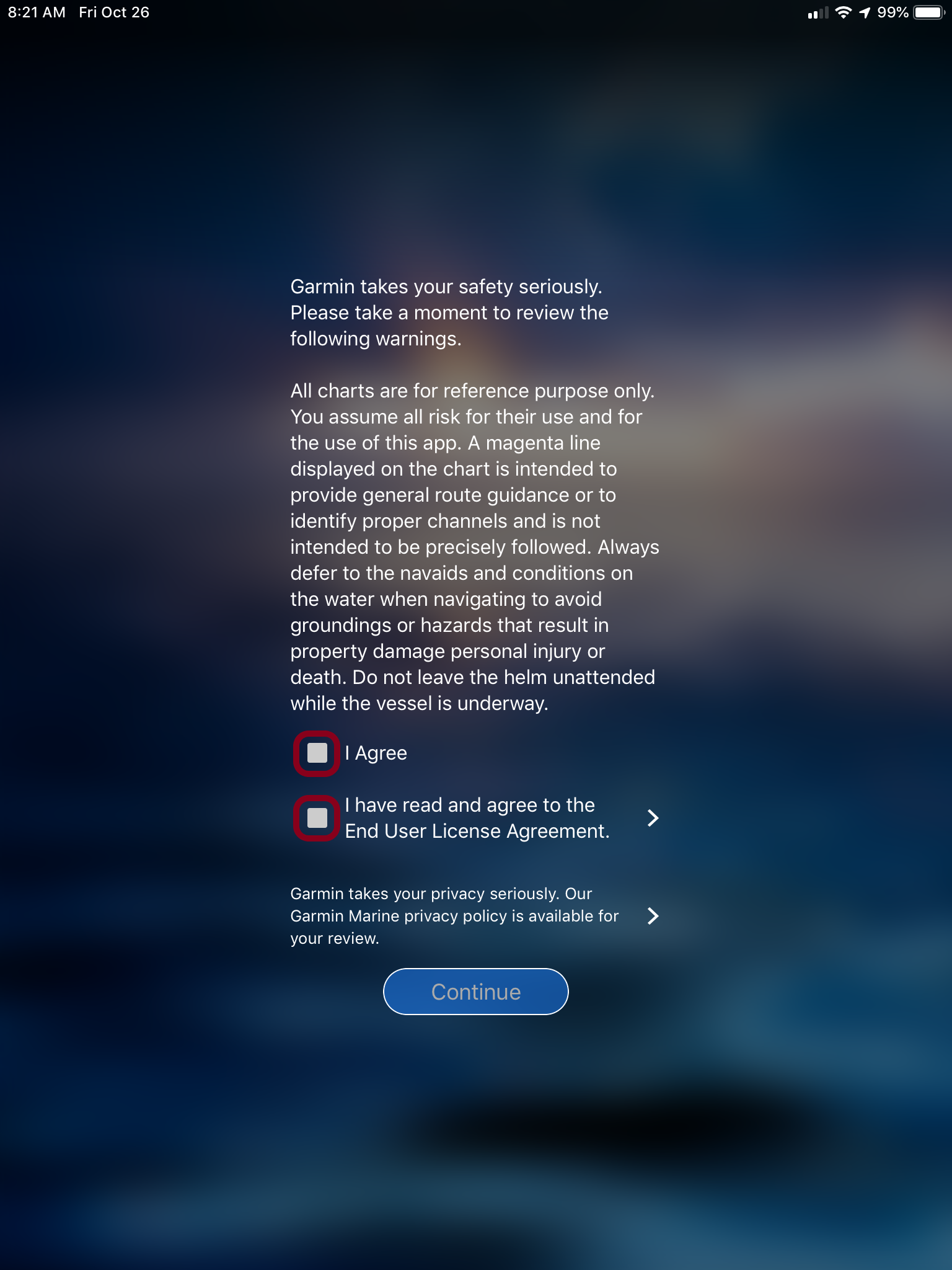 Registering a Garmin Marine Device Using the ActiveCaptain