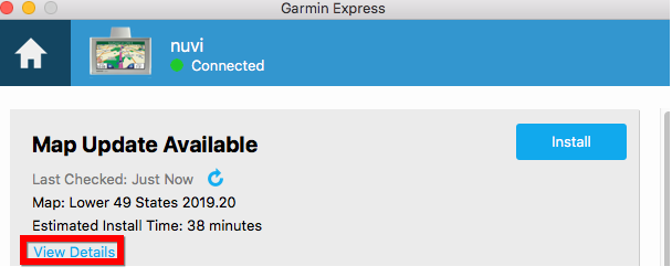 Update Maps Using Garmin Express on Devices That Do Not