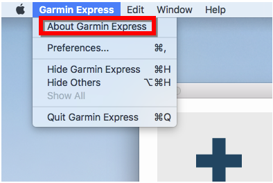 Automotive Device Not Detected by Garmin Express on a Mac | Garmin