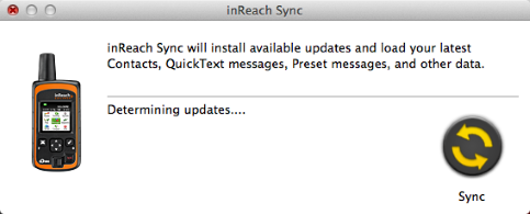 Inreach sync program