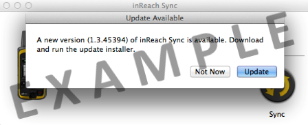 Unable to Update inReach Sync on a Mac Computer | Garmin Support