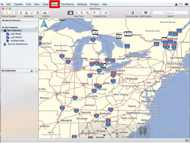 Unlock Maps in BaseCamp   Garmin Support