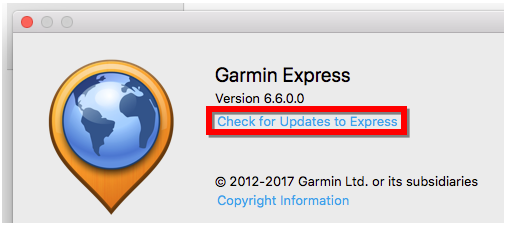 Automotive Device Not Detected by Garmin Express on a Mac