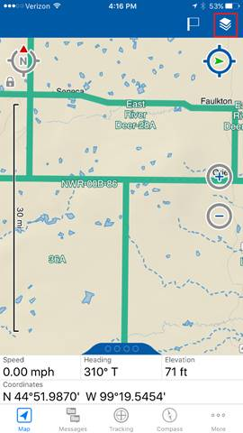 Earthmate Hunt Guide | Garmin Support on magellan land ownership maps, farmland north dakota maps, montana land ownership maps, north dakota ownership maps, gps montana ownership maps,
