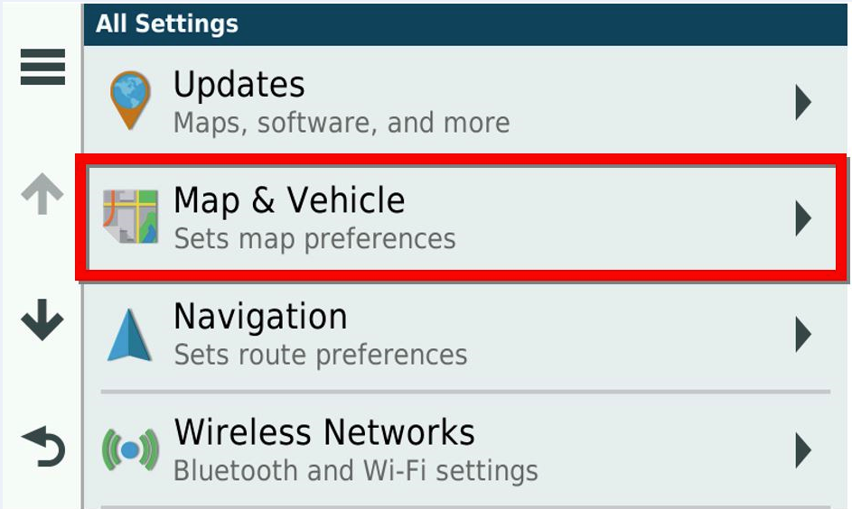 Missing Map Detail on an Automotive Device | Garmin Support