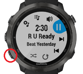 Determining the Amount of Storage for iHeartRadio Music | Garmin Support