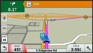 Speed Limit Reduction Alert | Garmin Support
