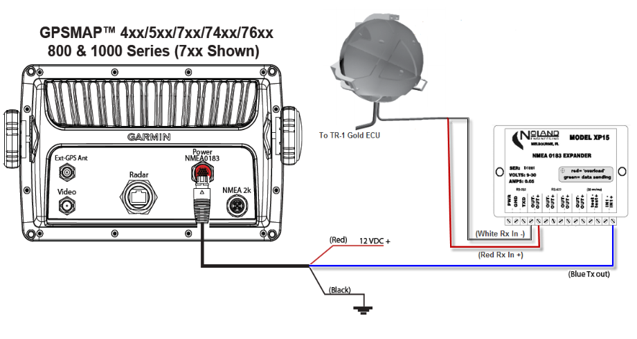vhf to garmin nmea 0183 wiring diagram